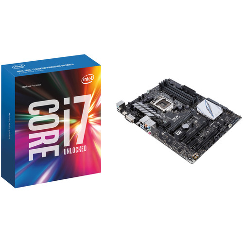 Intel Core i7-6700K 4.0 GHz Quad-Core Processor & ASUS Z170-E Motherboard Kit
