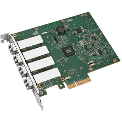Intel I340-F4 Quad-Port PCIe Ethernet Server Adapter (Pack of 5)