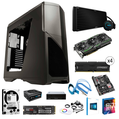Intel High-End Gaming Computer Build