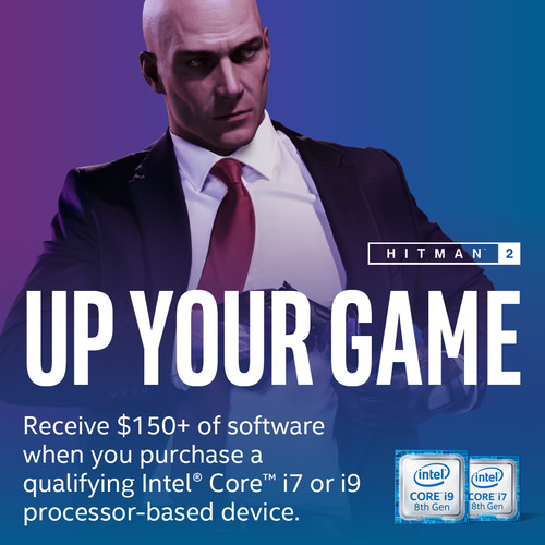 Intel Hitman 2 Gaming Bundle