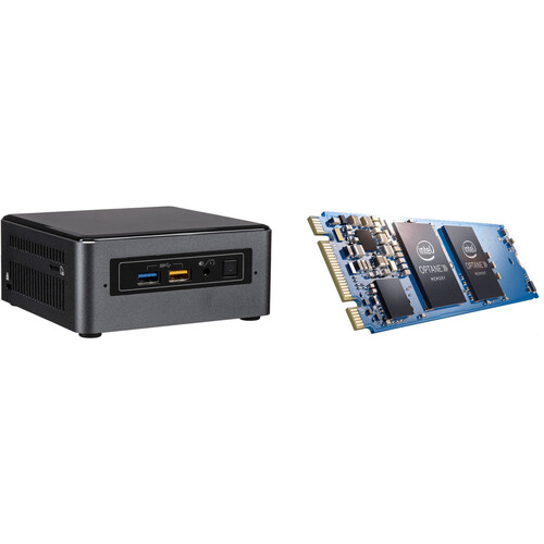 Intel NUC7i5BNH Mini PC NUC Kit with 16GB Optane PCIe M.2 Memory Module