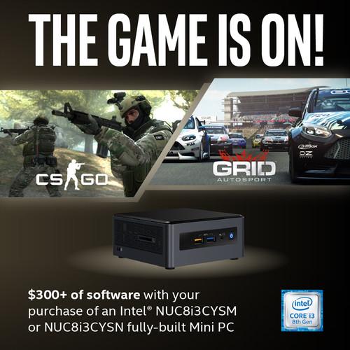 Intel Crimson Canyon Gaming Bundle