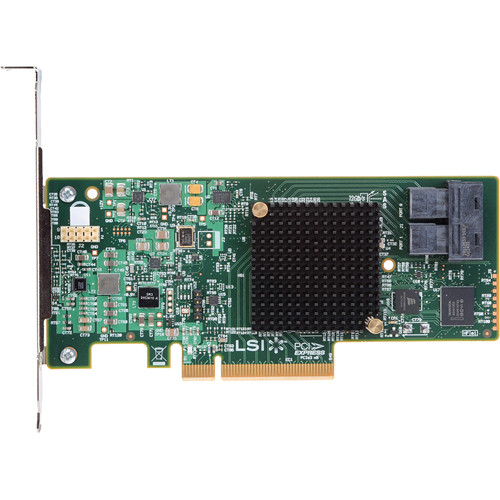 Intel RS3WC080 12 Gb/s PCIe 3.0 SAS/SATA RAID Controller Card