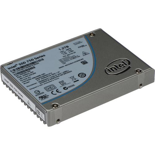 "Intel 1.2TB 750 Series 2.5"" PCIe 3.0 x4 NVM Express SSD"