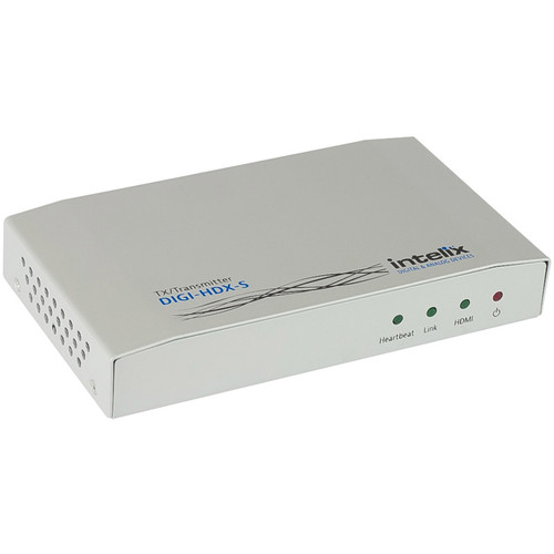 Intelix HDMI Extender Transmitter Unit over HDBaseT with Ethernet, RS232, Bi-Directional IR, and PoE (295')
