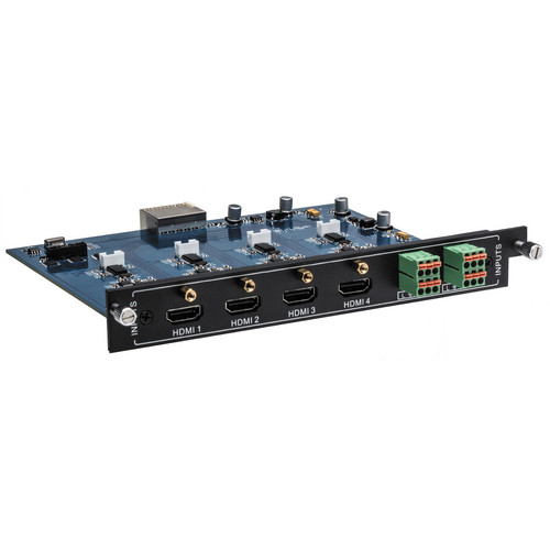 Intelix FLX-HI4A 4 Port HDMI Input Card with Analog Audio Embedding for FLX Series Switchers