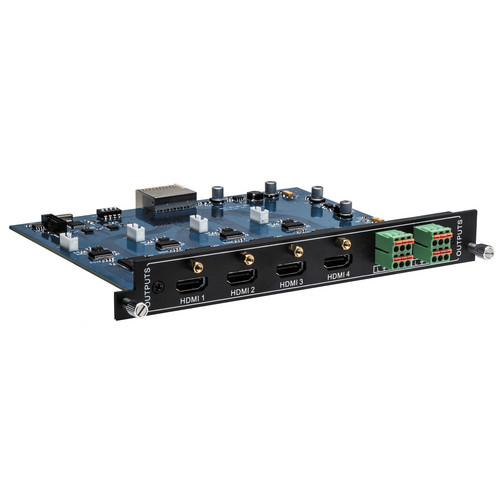 Intelix FLX-HO4A 4 Port HDMI Output Card with Audio De-embedding for FLX Series Switchers