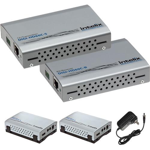 Intelix HDMI/IR/RS232 HDBaseT Transmitter and Receiver Kit