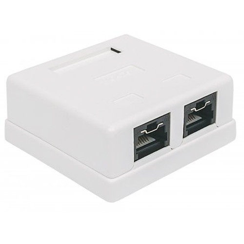 Intellinet Locking Cat5E UTP Mount Box