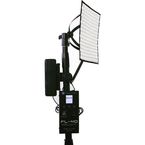 "Intellytech Socanland FL-40 Airlight Bi-Color 10x10"" LED Panel Kit with V-Mount Battery Plate"
