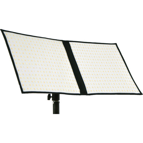 "Intellytech Socanland FL-80 Airlight Bi-Color 10x20"" LED Panel Kit with Anton Bauer Battery Plate"