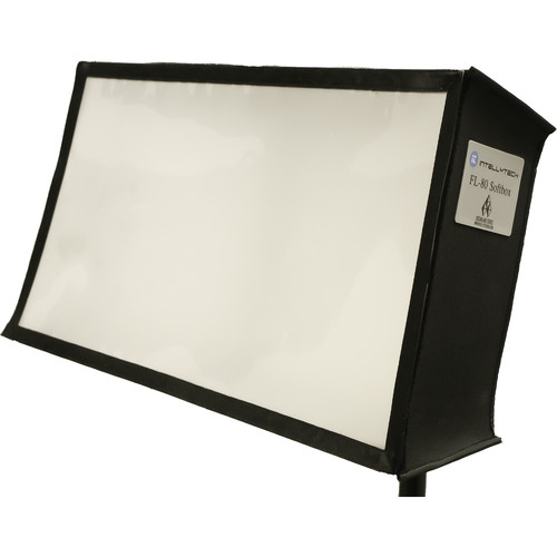 Intellytech Collapsible Softbox with Removable Diffuser Filter for FL-80 Airlight