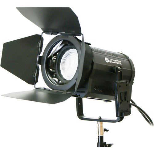 Intellytech Light Cannon F-165 AC/DC 5500K High-Output LED Fresnel with Wi-Fi and V-Mount Battery Plate