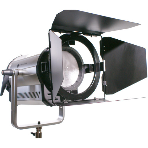 Intellytech Light Cannon F-165 AC/DC Bi-Color High Output LED Fresnel with DMX and V-Mount Battery Plate