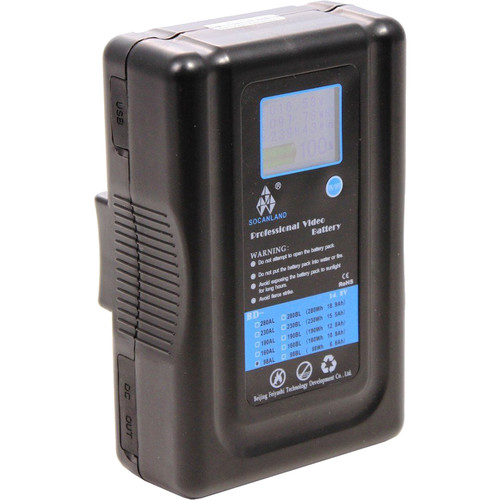 Intellytech Socanland 14.8V 98Wh Li-Ion Battery with V-Mount
