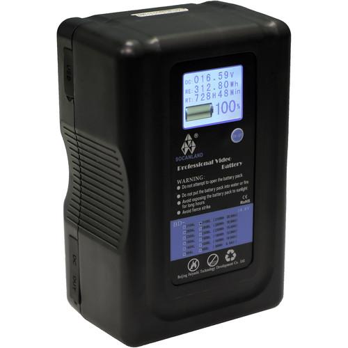 Intellytech Socanland 310Wh LCD Battery (V-Mount)