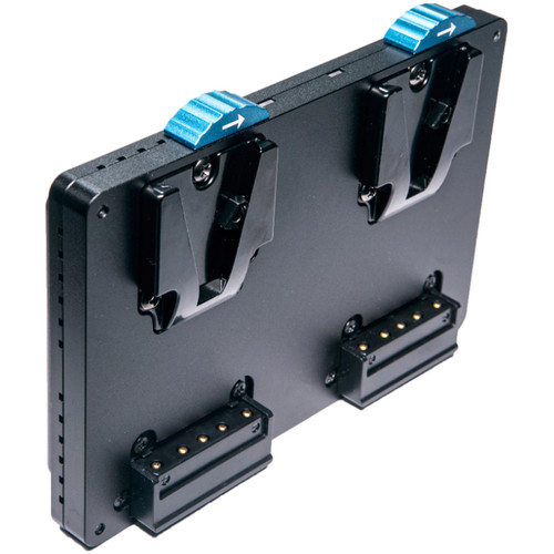 Intellytech Pocket-V Dual Battery Plate (V-Mount to Gold Mount)
