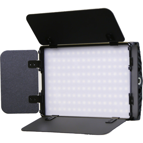 "Intellytech Nitro 15 Bi-Color 5.75 x 3.75"" Bi-Color On-Camera LED Panel Light with Barndoors"