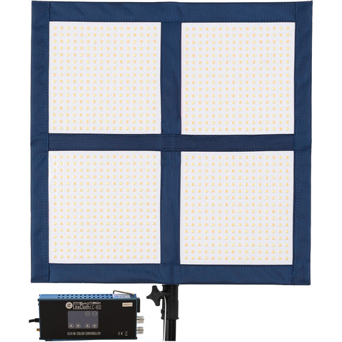 Intellytech LiteCloth LC-160 2x2' Foldable LED Mat Kit (Gold Mount)