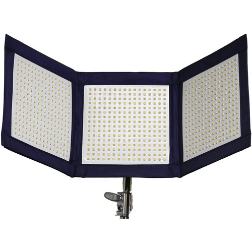 Intellytech LiteCloth LC-120 1 x 3' Foldable LED Mat Kit (Gold Mount)