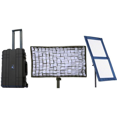 Intellytech LiteCloth LC-100 1 x 2' Foldable LED 2-Light Kit (Gold Mount)