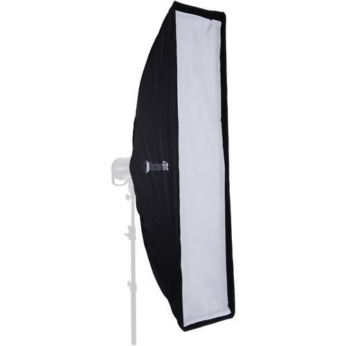 "Interfit Foldable Strip Softbox with Grid (12 x 55"")"