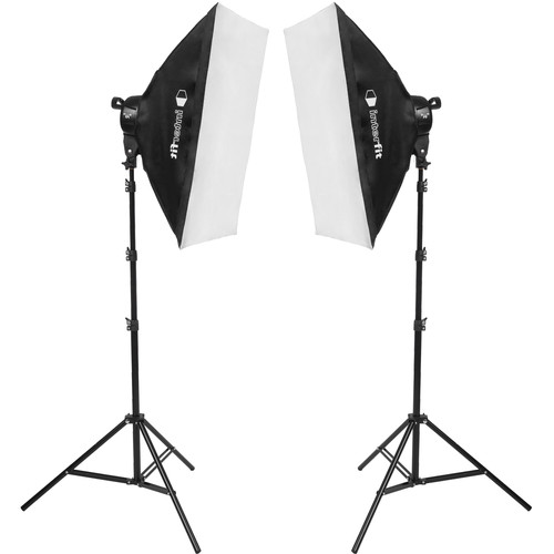 Interfit F5 Two-Head Fluorescent Lighting Kit