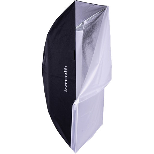 "Interfit Foldable Rectangular Softbox with Elinchrom EX Adapter (32 x 48"")"