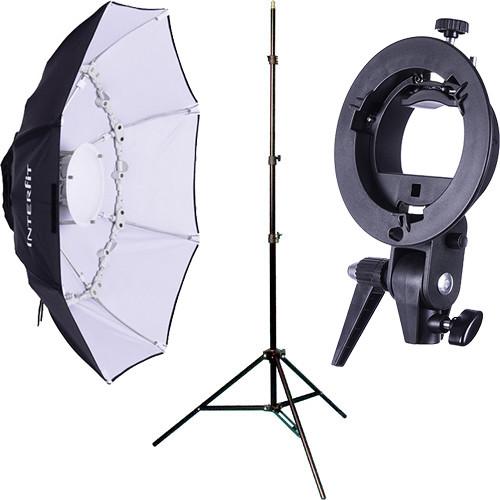 Interfit Speedlight Collapsible Beauty Dish Kit