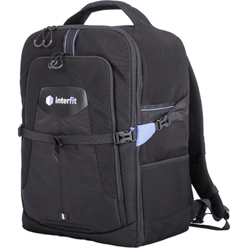 Interfit Twin-Head Lighting Backpack for S1 TTL Flash Heads (Black)