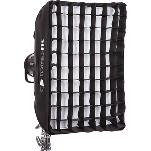 "Interfit Heat-Resistant Rectangular Softbox with Grid (16 x 24"")"