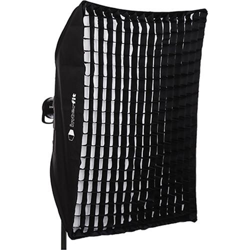 "Interfit Heat-Resistant Rectangular Softbox with Grid (36 x 48"")"