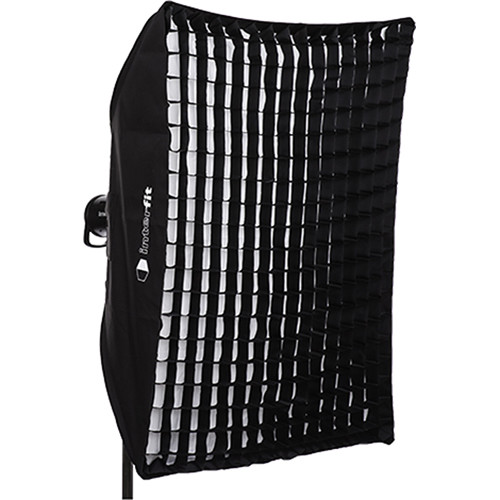"Interfit Heat-Resistant Rectangular Softbox with Grid (36 x 48"")"