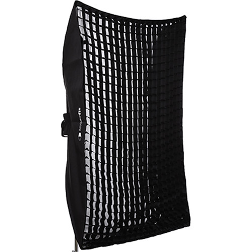 "Interfit Heat-Resistant Rectangular Softbox with Grid (48 x 72"")"