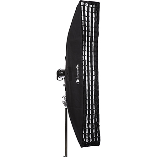 "Interfit Heat-Resistant Strip Softbox with Grid (12 x 72"")"