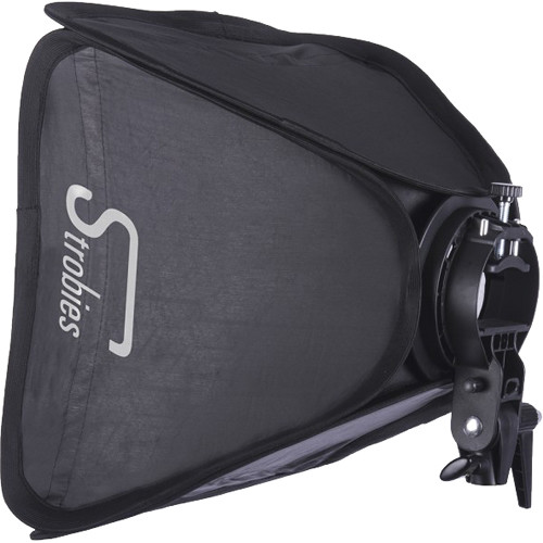 "Interfit Strobies S-Type Speedlight Bracket and Softbox Kit (16 x 16"")"