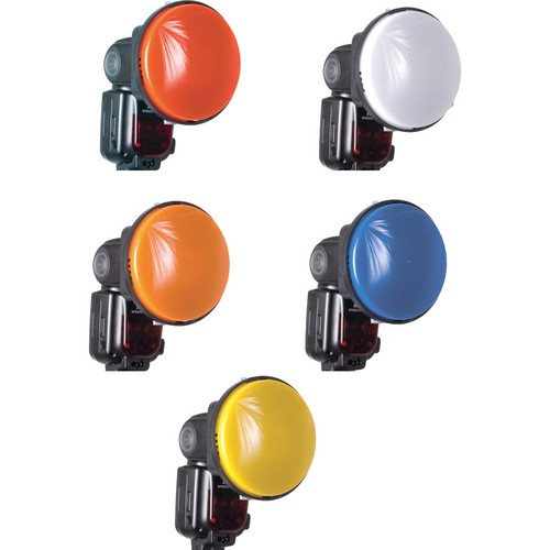 Interfit Strobies Modi-Lite Colored Gel Set for Uni-Mount Flash Accessory System