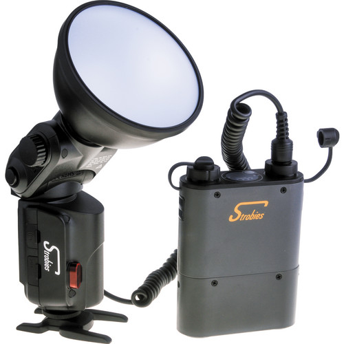 Interfit Strobies Pro-Flash One Eighty Flash Kit with Battery Pack