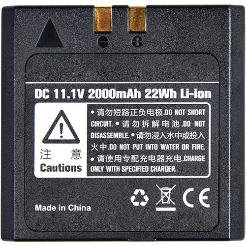 Interfit Rechargeable Li-Ion Battery Pack for Strobies Pro-Flash TLi-C & TLi-N