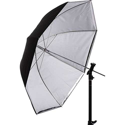 "Interfit Translucent White and Silver Convertible Umbrella (36"")"