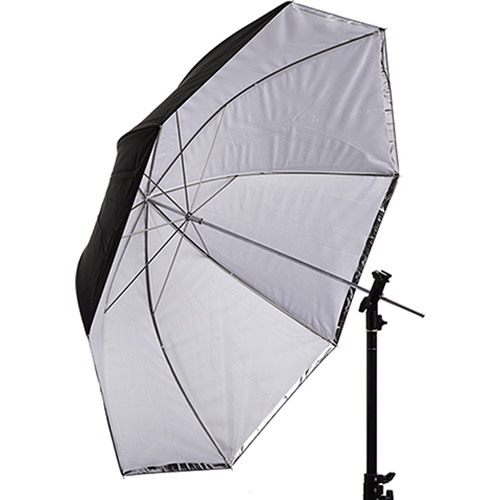 "Interfit Translucent White and Silver Convertible Umbrella (43"")"