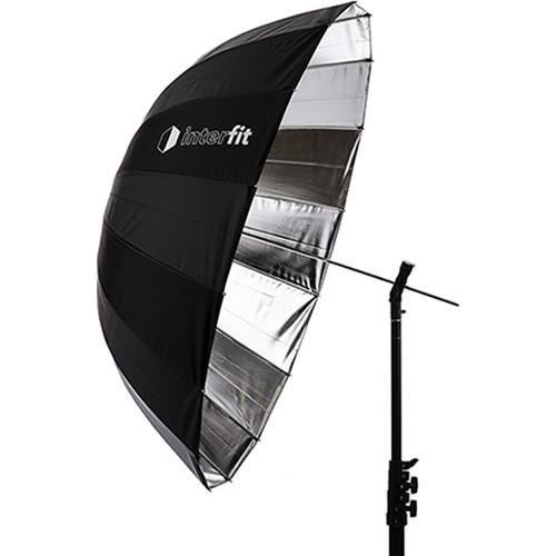"Interfit Silver Parabolic Umbrella (41"")"