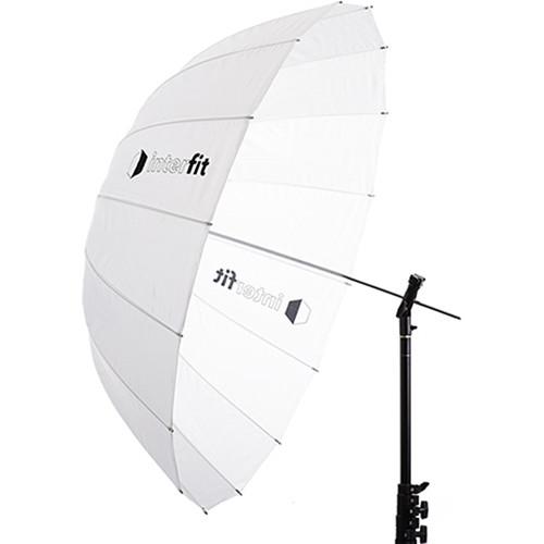 """Interfit 41"""" Translucent Parabolic Umbrella"""