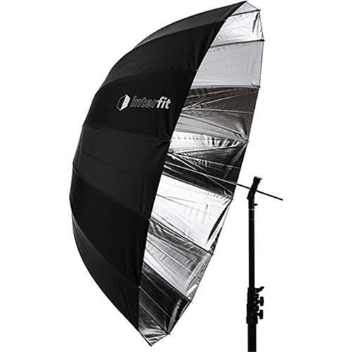 "Interfit Silver Parabolic Umbrella (51"")"