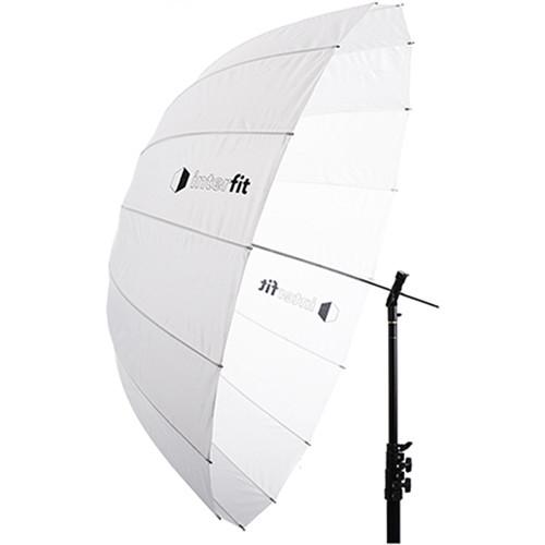 """Interfit 51"""" Translucent Parabolic Umbrella"""