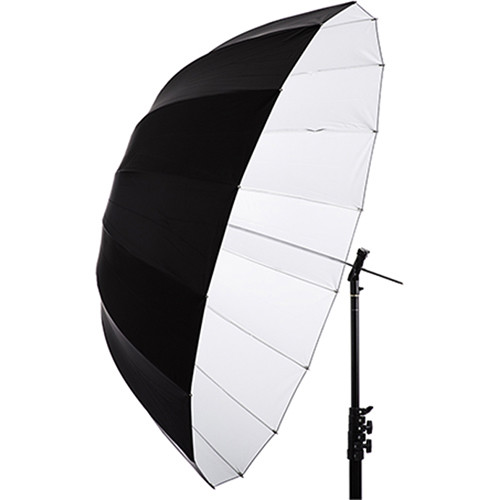 "Interfit 51"" White Parabolic Umbrella"