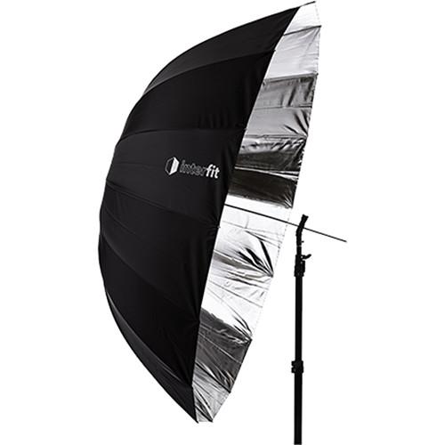 "Interfit Parabolic Umbrella (Silver, 65"")"