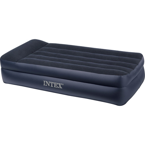 Intex Twin Pillow Rest Raised Airbed with Built-in Pump