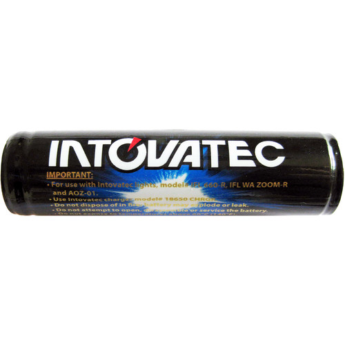 Intova Rechargeable Li-Ion 18650 Battery for IFL WA ZOOM-R / IFL 660-R / AOZ-01 Flashlights
