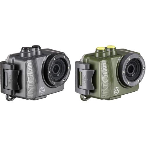 Intova Dual DUB Action Camera Kit (Forest/Graphite)